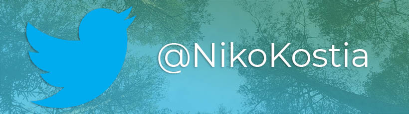Olen twitterissä!